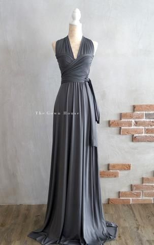 PRE ORDER The Infinity Gown in Charcoal | трансформер | Pinterest ...