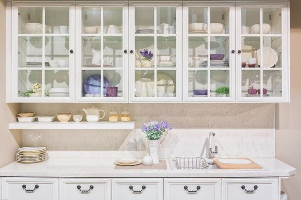 An Alternative To Wood: Glass Front Cabinets | Glass ...