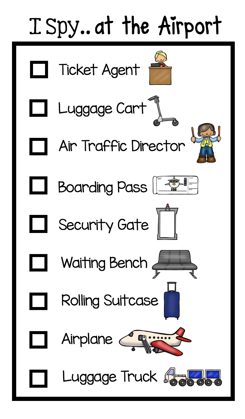 Surviving an Airplane Trip with Littles - FREE printables — Keeping My  Kiddo Busy   Airplane travel [ 1392 x 816 Pixel ]