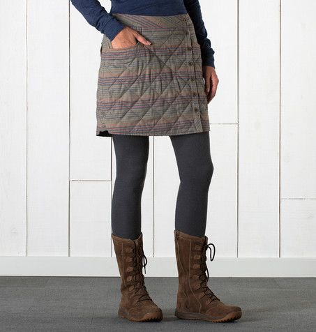 s quilted birddog skirt insulated skirt by