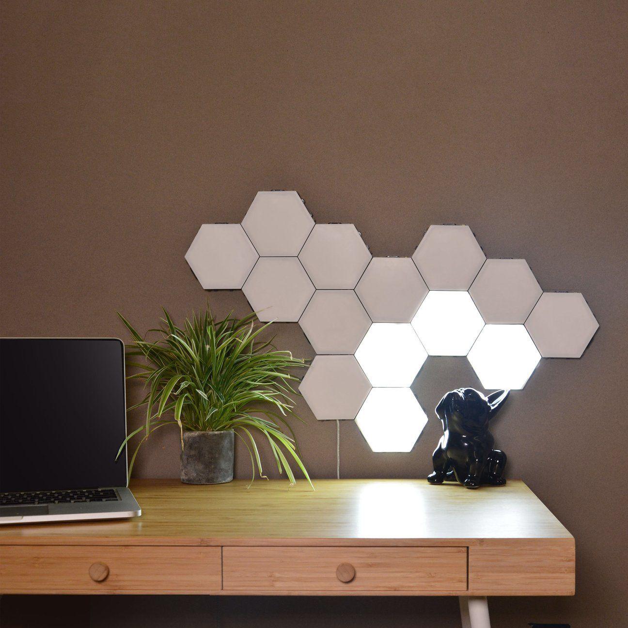Helios Touch Touch Sensitive Modular Lighting Wall Lights Light Panels Interior Light Fixtures