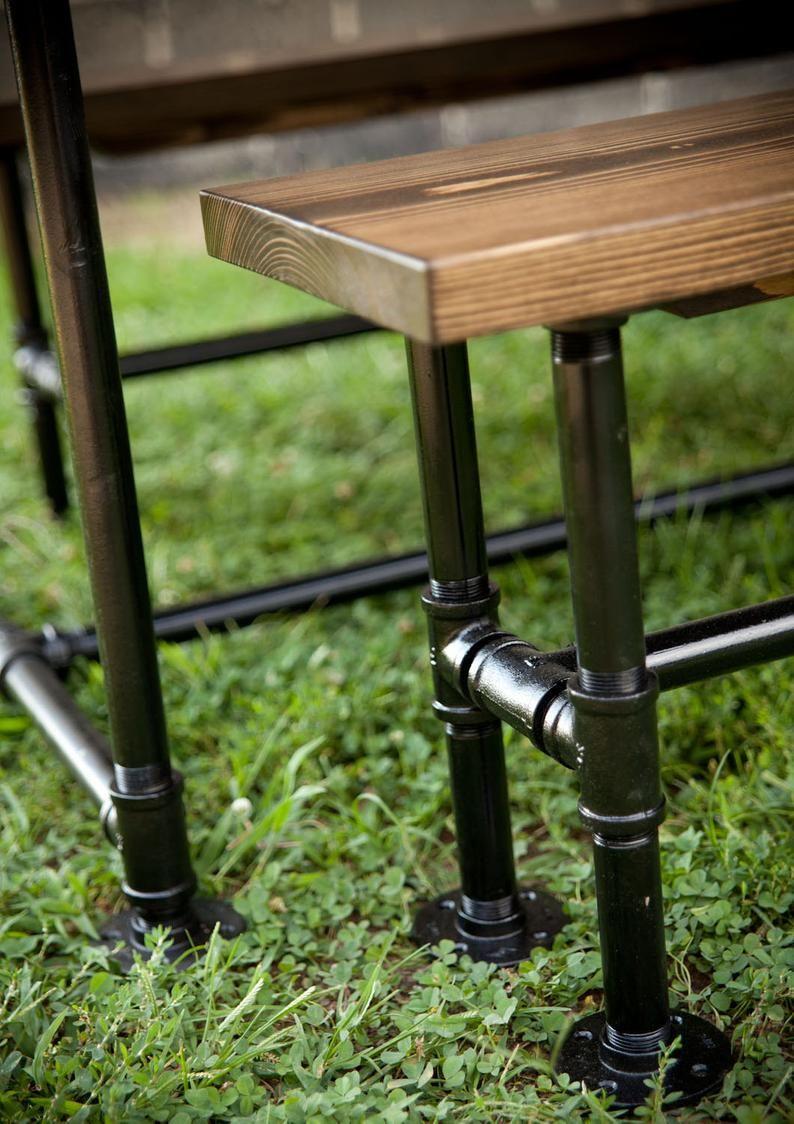 5ft industrial style farmhouse table farmhouse dining