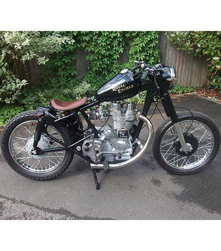 Royal Enfield Custom Bobber For Sale | Moto | Royal enfield, Enfield