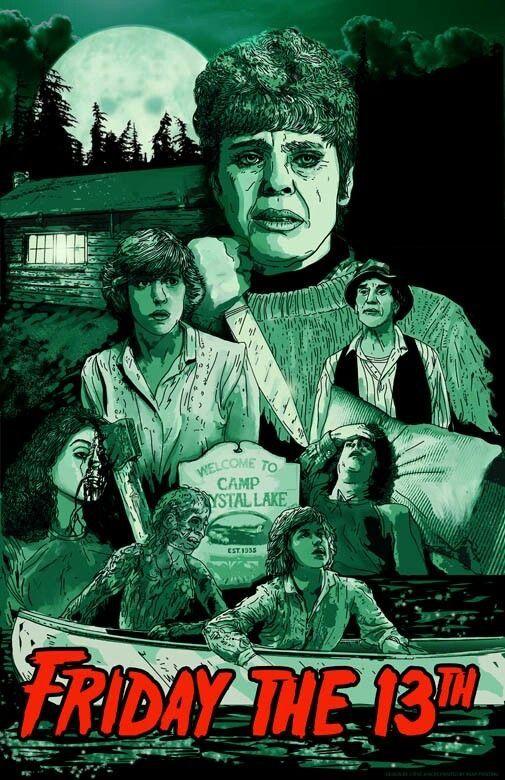 Horror Filme Von 1980er