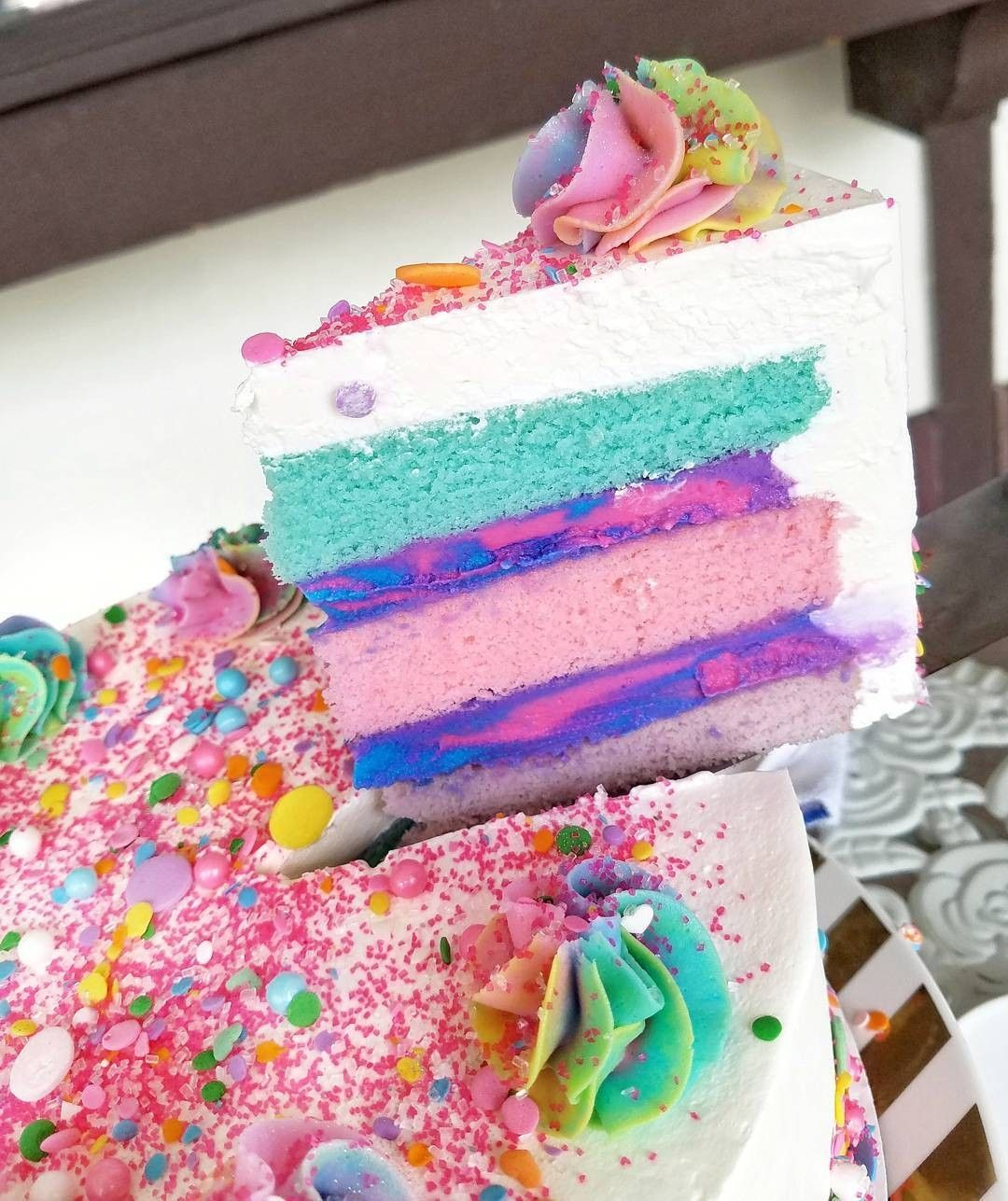 Unicorn ice cream, Cake, Ice cream cake