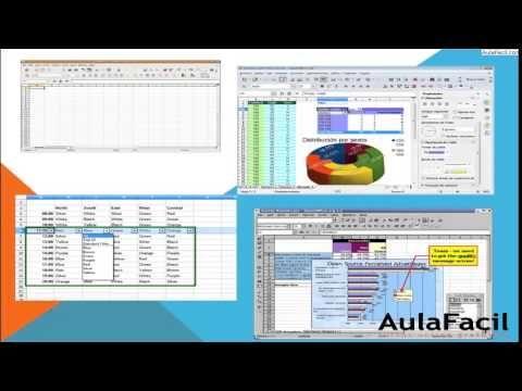 OpenOffice - Calc/Introducción/Open Office - Calc/AulaFacil - open office spreadsheet