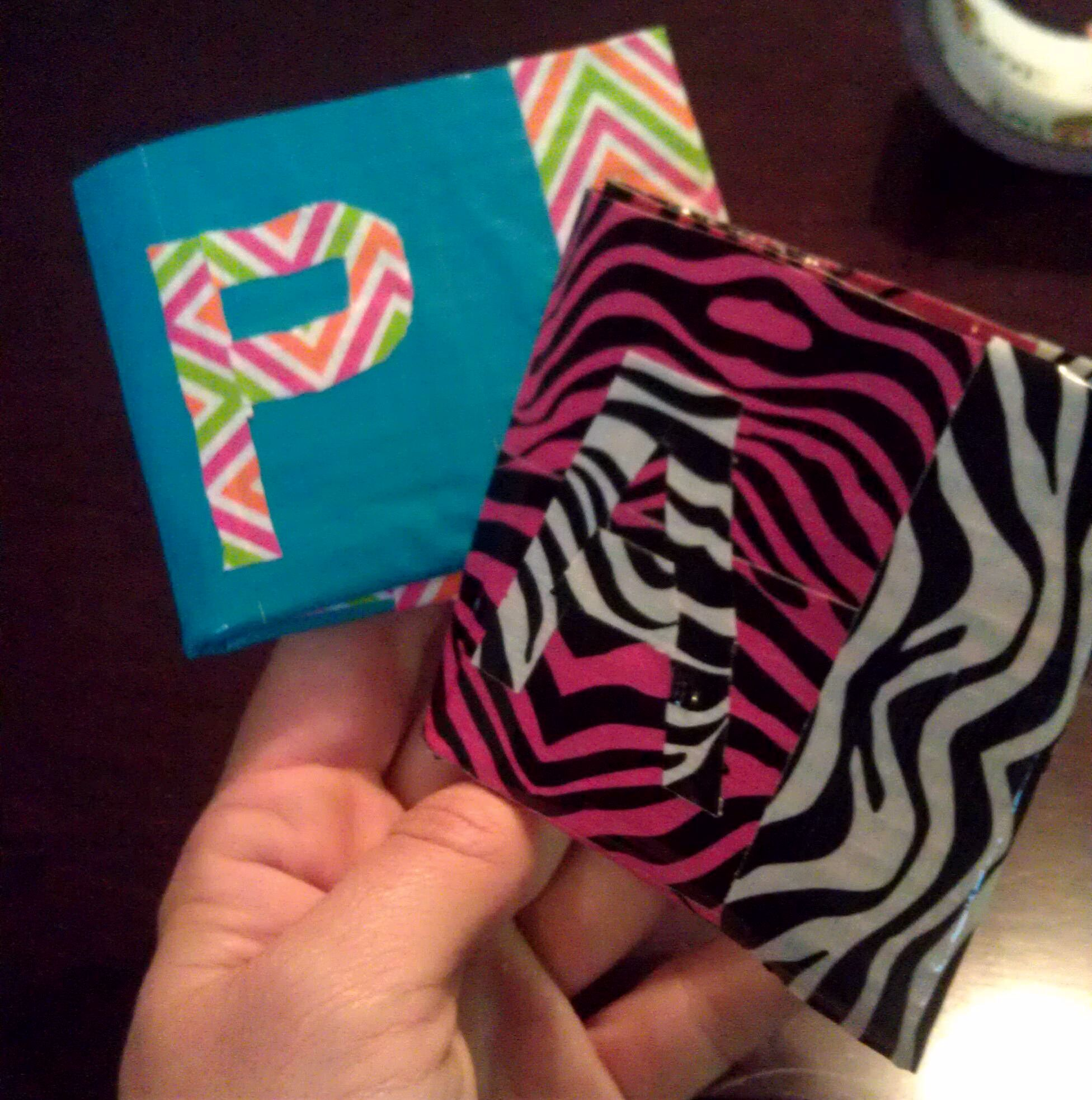 Duct tape crafts for girls print tape on the shelves for Super easy duct tape crafts