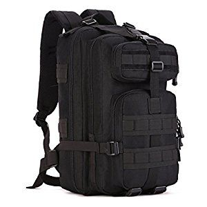 2b91c24f966c SUNVP Molle 40L Tactical Backpack Army Surplus Gear Military Assault  Rucksack Pack Large Waterproof Laptop Bag Daysack for Camping Trekking  Hiking ...