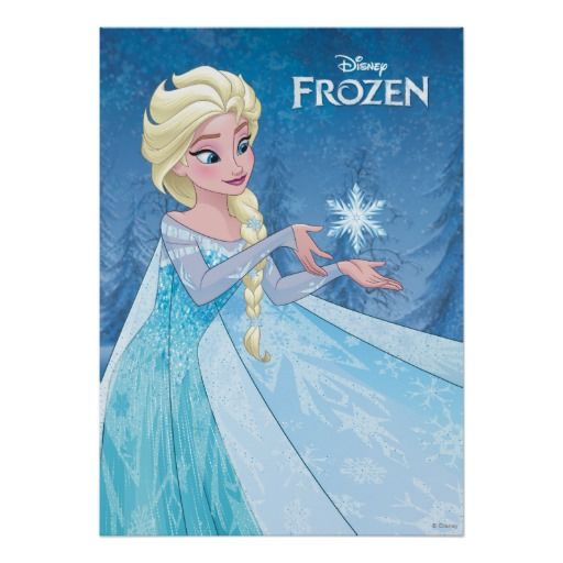 Elsa Let It Go Posters
