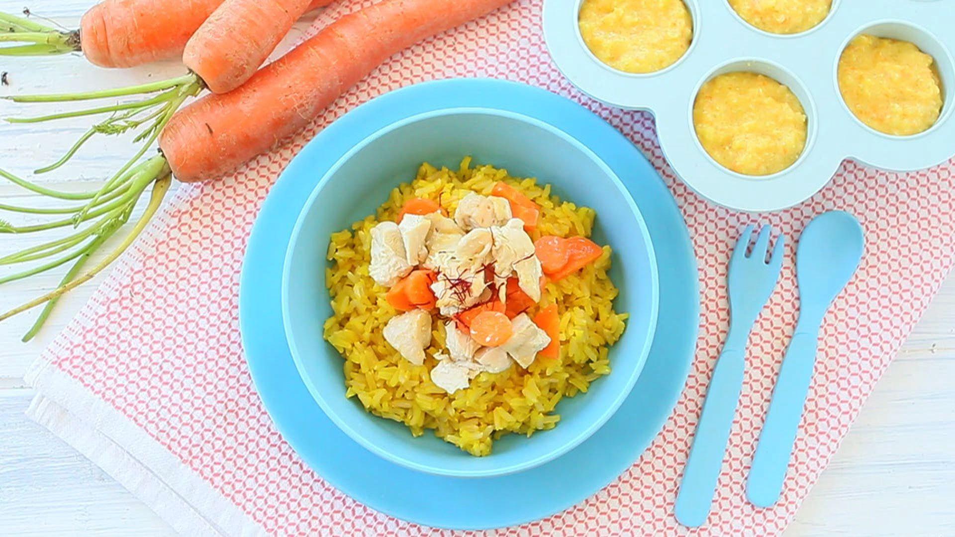 Chicken rice saffron baby puree buona pappa harry food chicken rice saffron baby puree buona pappa forumfinder Gallery