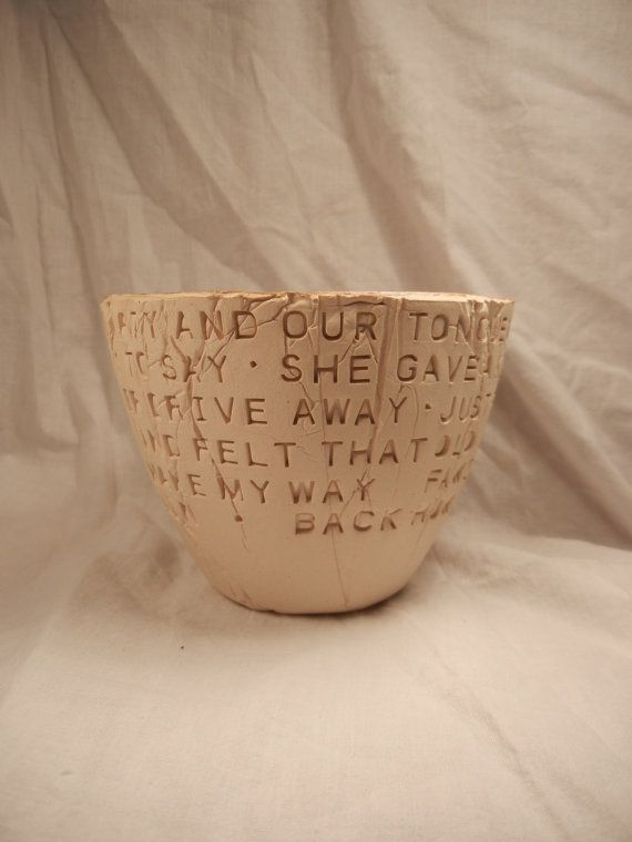dan fogelberg same old lang syne clay bowl pottery bowl song lyric pottery anniversary gift music lover gift christmas gift - Dan Fogelberg Christmas Song