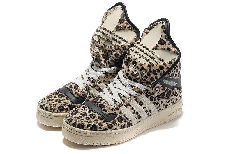 Chaussure Adidas Jeremy Scott Leopard