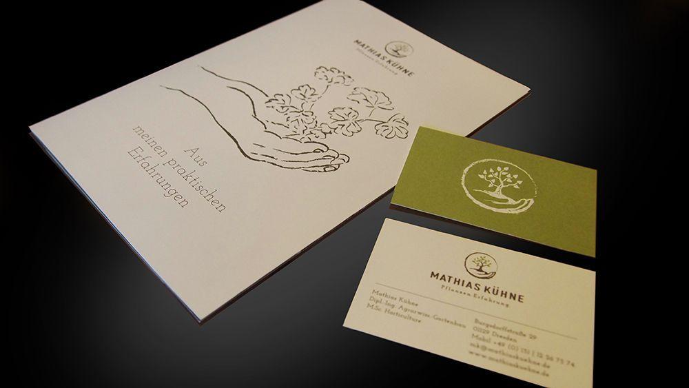 Flyer Gestaltung Sh Design Mathias Kuhne Pflanzen Und