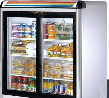 True Countertop Refrigerated Merch Gdm 9 S Countertop