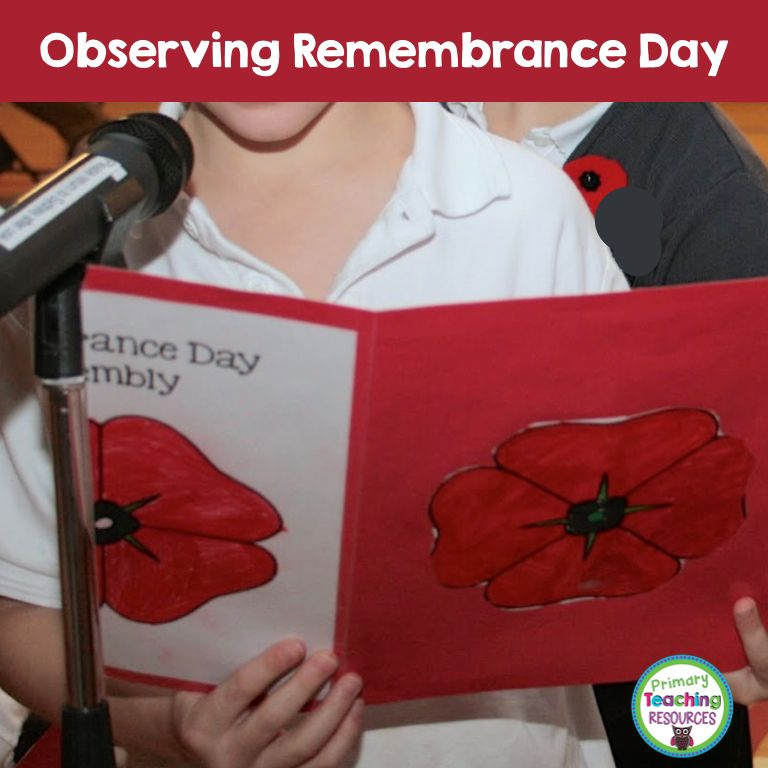 A couple of years ago, my third grade students were responsible for hosting a school-wide Remembrance Day Assembly. Of course, when I ...