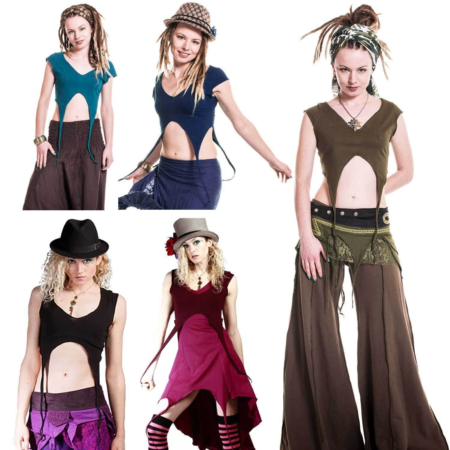 elf top GEKKO TOP WOMENS PIXIE CLOTHING PIXIE JACKET FAIRY TOP PIXIE TOP