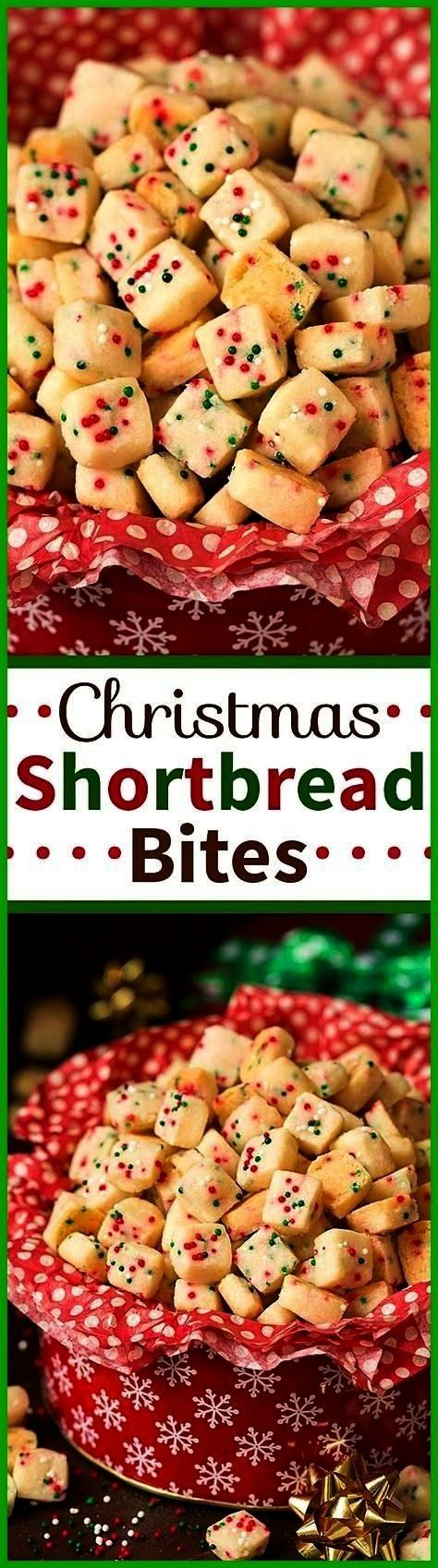kids thought I was the coolest mom ever Why I made these Funfetti Shortbread Bites Christmas style of course Did I make them Today my kids thought I was the coolest mom e...
