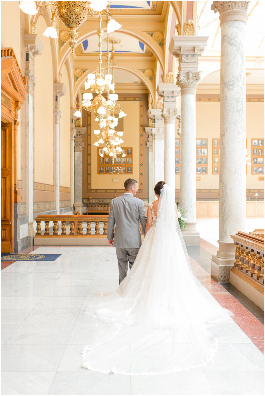 Indiana State House Wedding Indianapolis State House Wedding