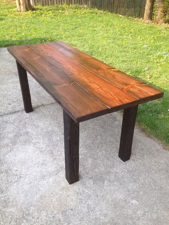 The BBQ Pub Table Reclaimed Wood Outdoor Farmhouse Dining Bar