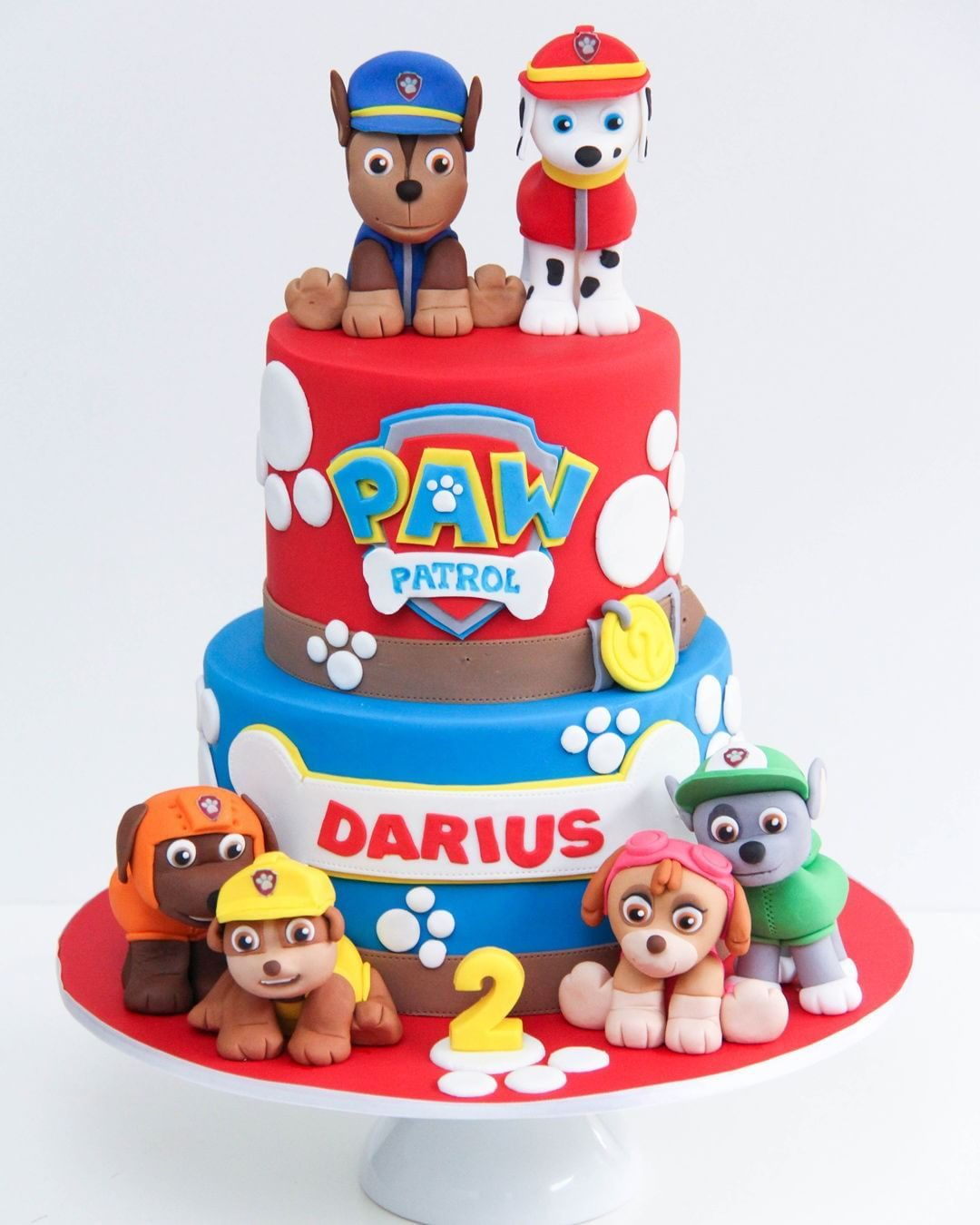 Super Birthdaycakemonday Paw Patrol Is On A Roll Funny Birthday Cards Online Alyptdamsfinfo