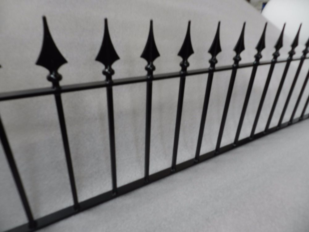 Details About Metal Railings Pointed Arrowhead Spear Top