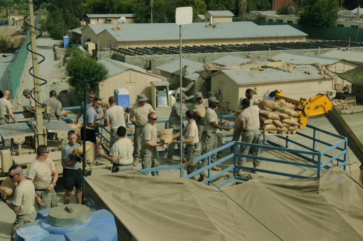 Members of Provincial Reconstruction Team Nangarhar