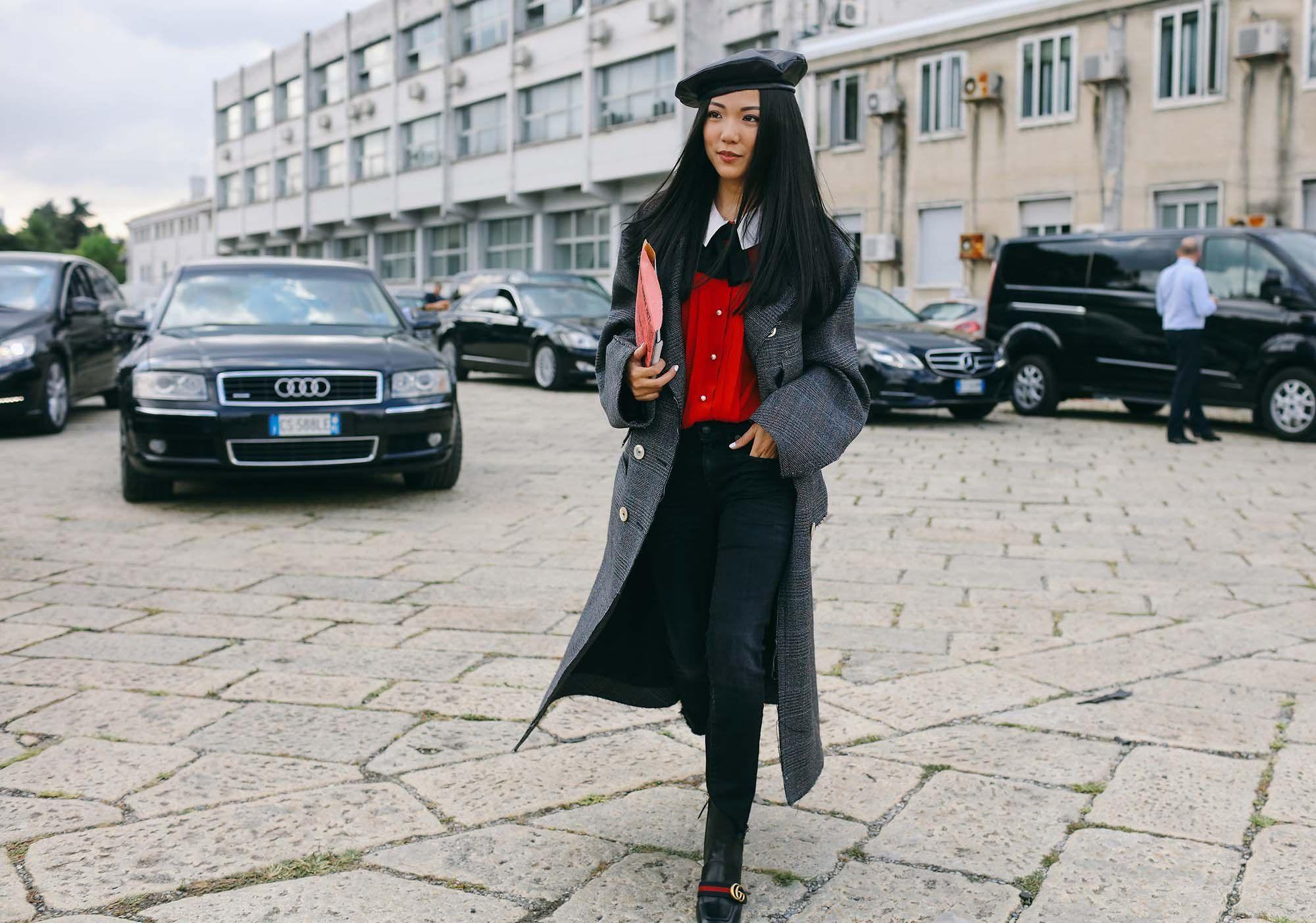 Yoyo Cao in Gucci