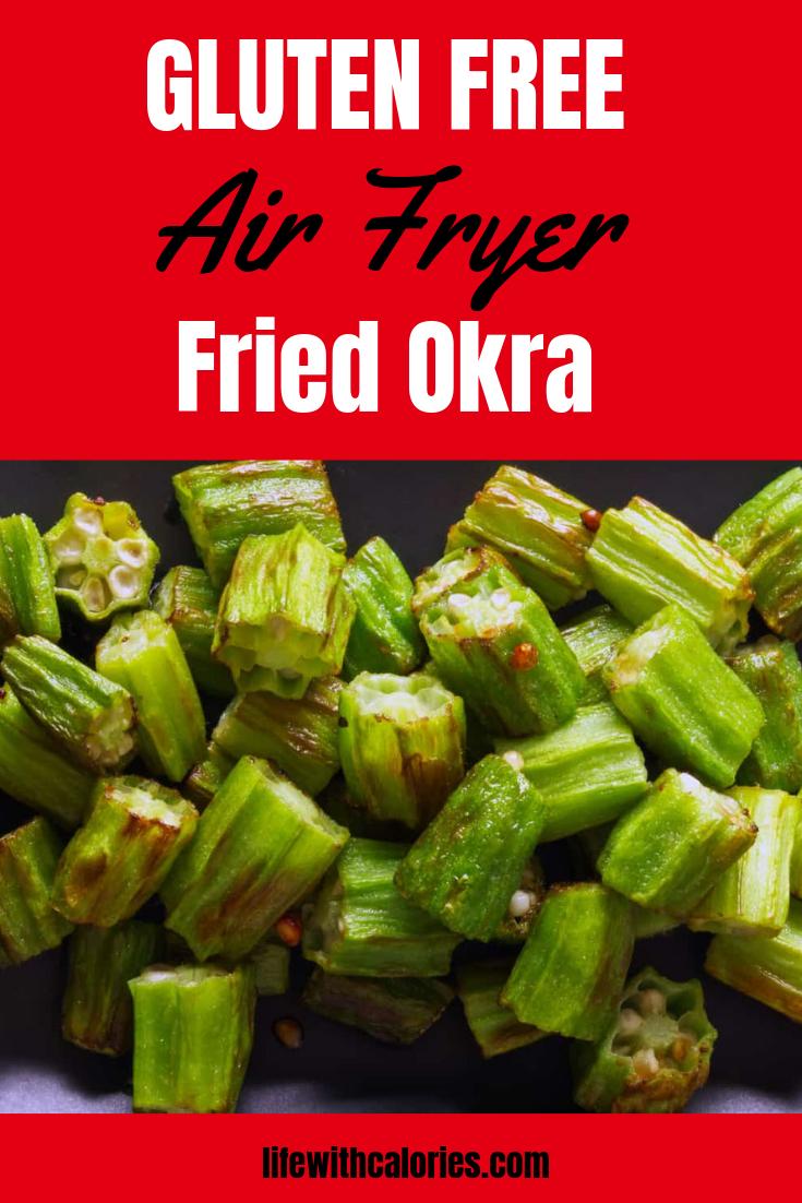 Air Fryer Fried Okra (Low Carb) Recipe Okra, Air fryer