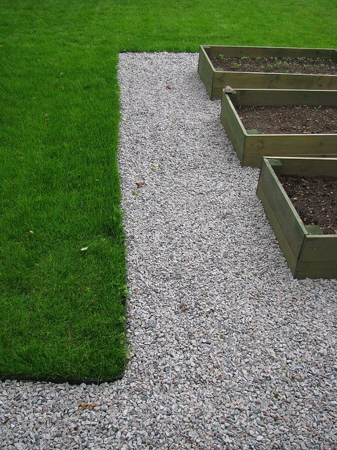 Garden Edging Gravel And Lawn By Best4garden  Wood Products