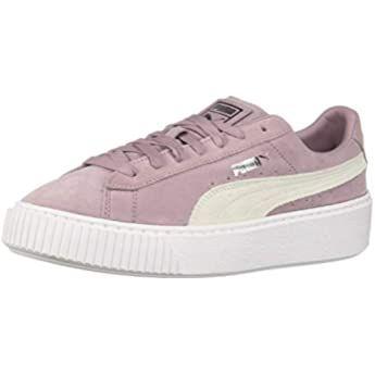 puma vikky platform women's leather shoes