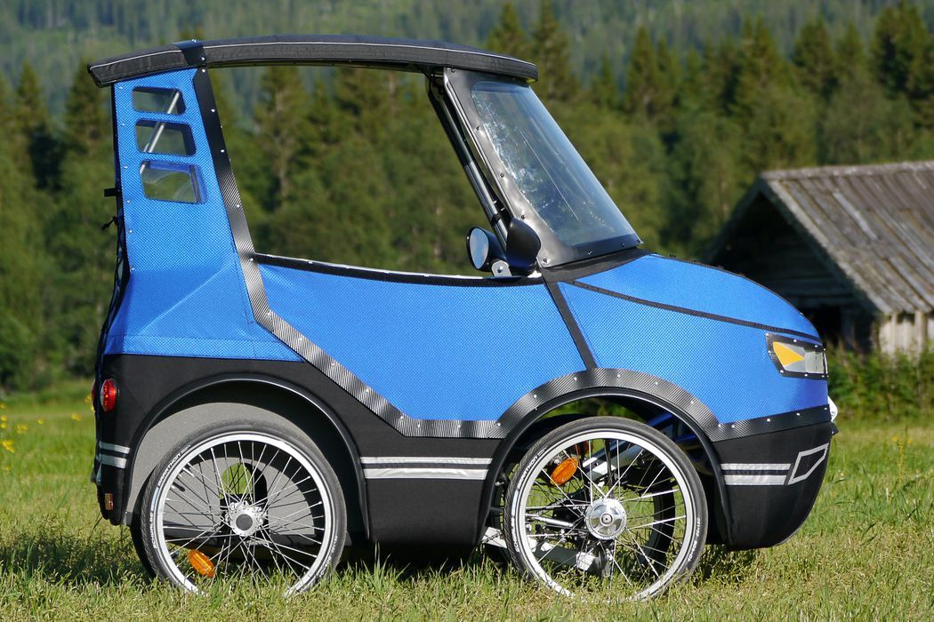 This Four Wheeled Bicycle Car Is Going To Change The Way You Ride