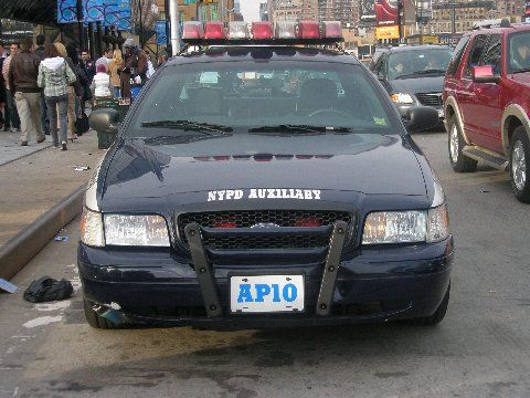 Old Nypd NYPD Auxiliary police car - Ford Crown Victoria nypd