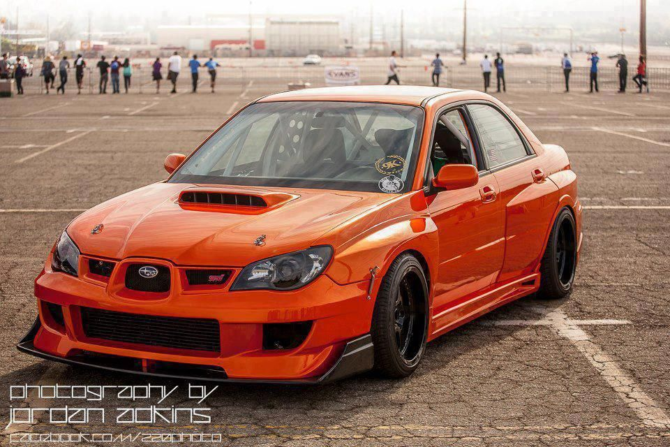 Subaru WRX STI Color Is Amazing