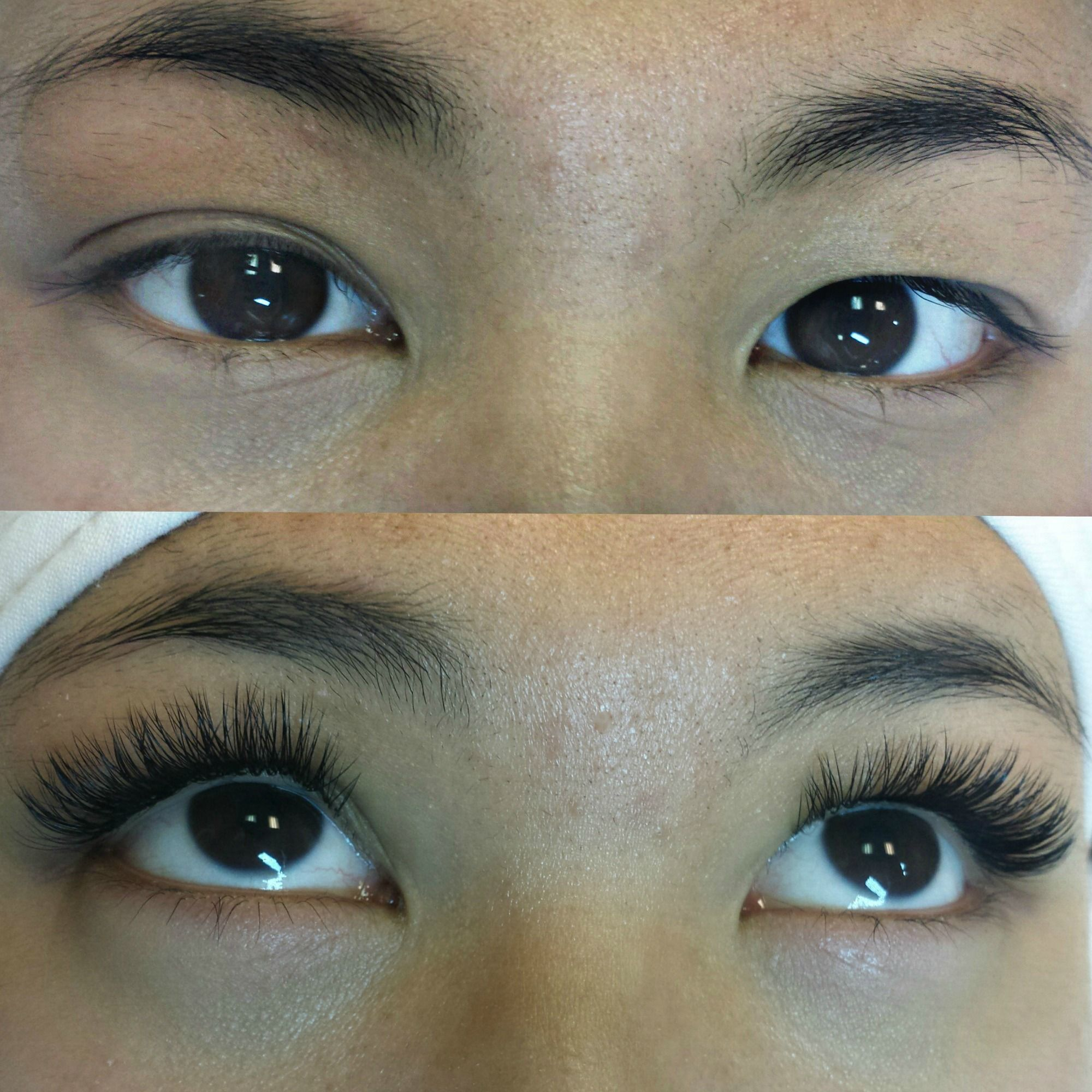 Classic 23 D Lashes Done By Our Most Awesome Trainer Chan In