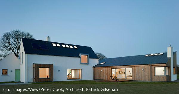 Haus und -anbau | Architecture | Pinterest | Anbau, Häuschen und ...