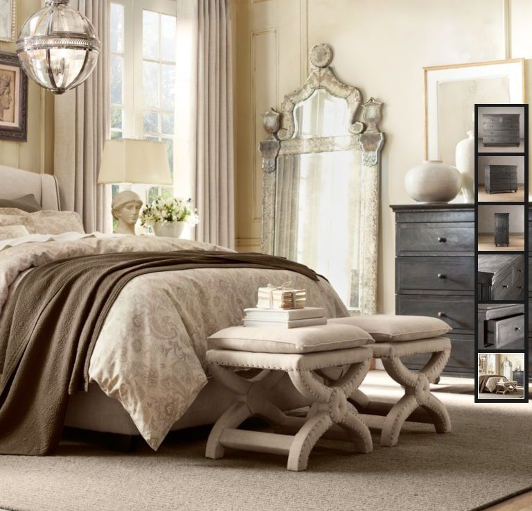 Zinc bedroom furniture