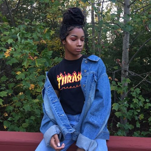 90s, aesthetic, and black girl image | 90s girl fashion ...
