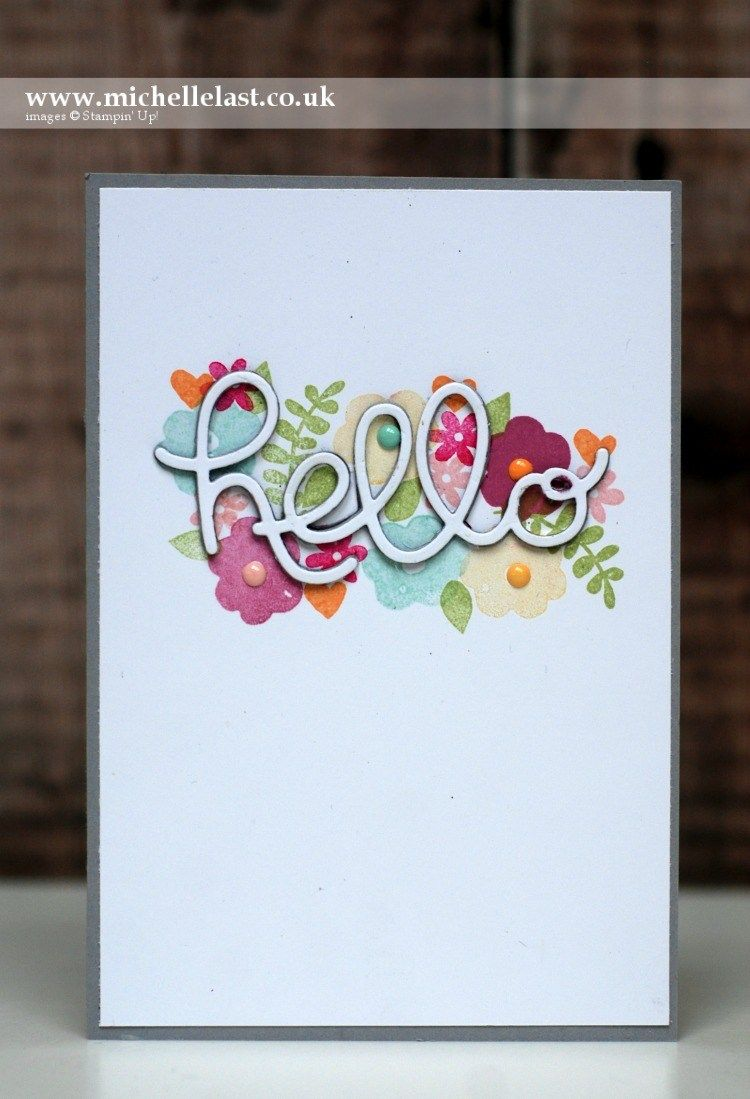Endless Thanks From Stampin Up With Stampin Up Pinterest