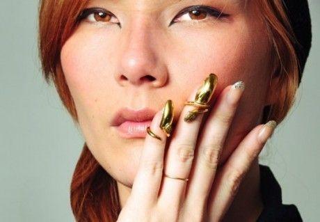 Nail ring futuristici