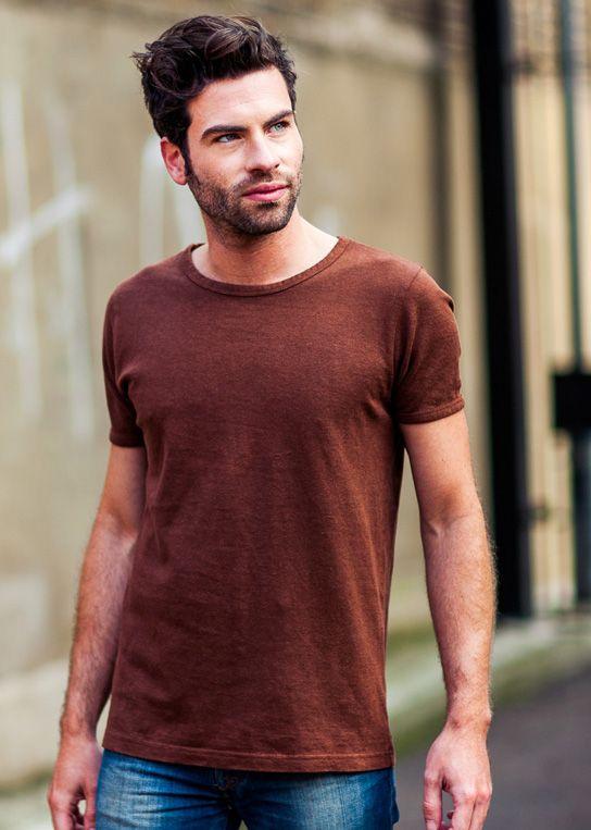 39350d121f52 Plain Hemp and Organic Cotton Sixtee T-Shirt by Uprise | HEMP ...
