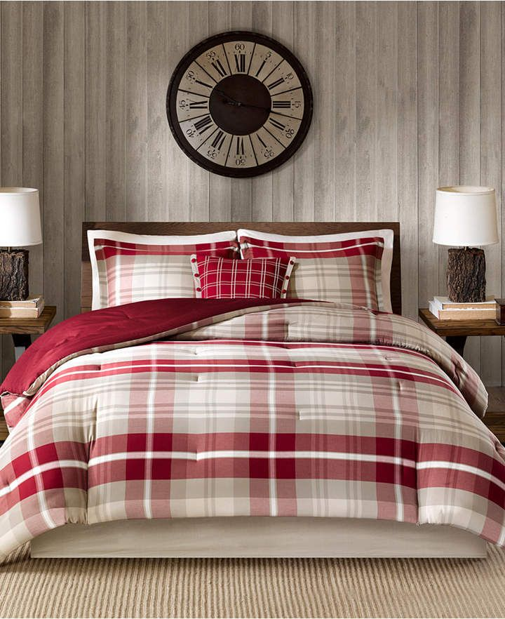 Woolrich Sheridan 5 Pc California King Oversized Comforter Set