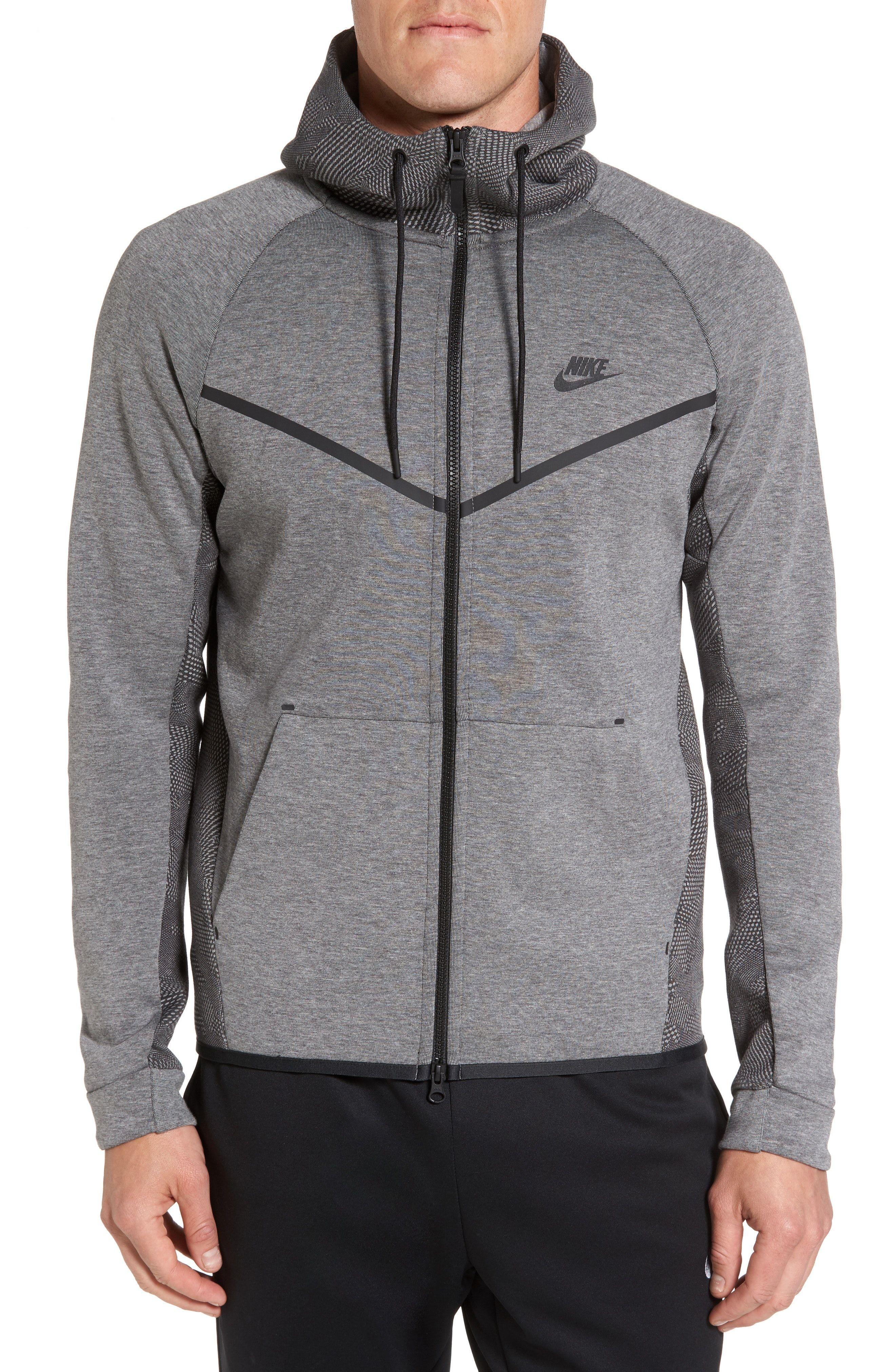 New Nike Sportswear Tech Fleece Windrunner Hoodie ,WHITE