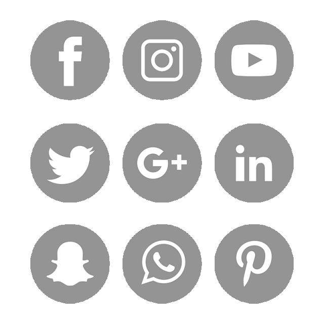 Social Media Icons Set Logo Vector Illustrator Social Media