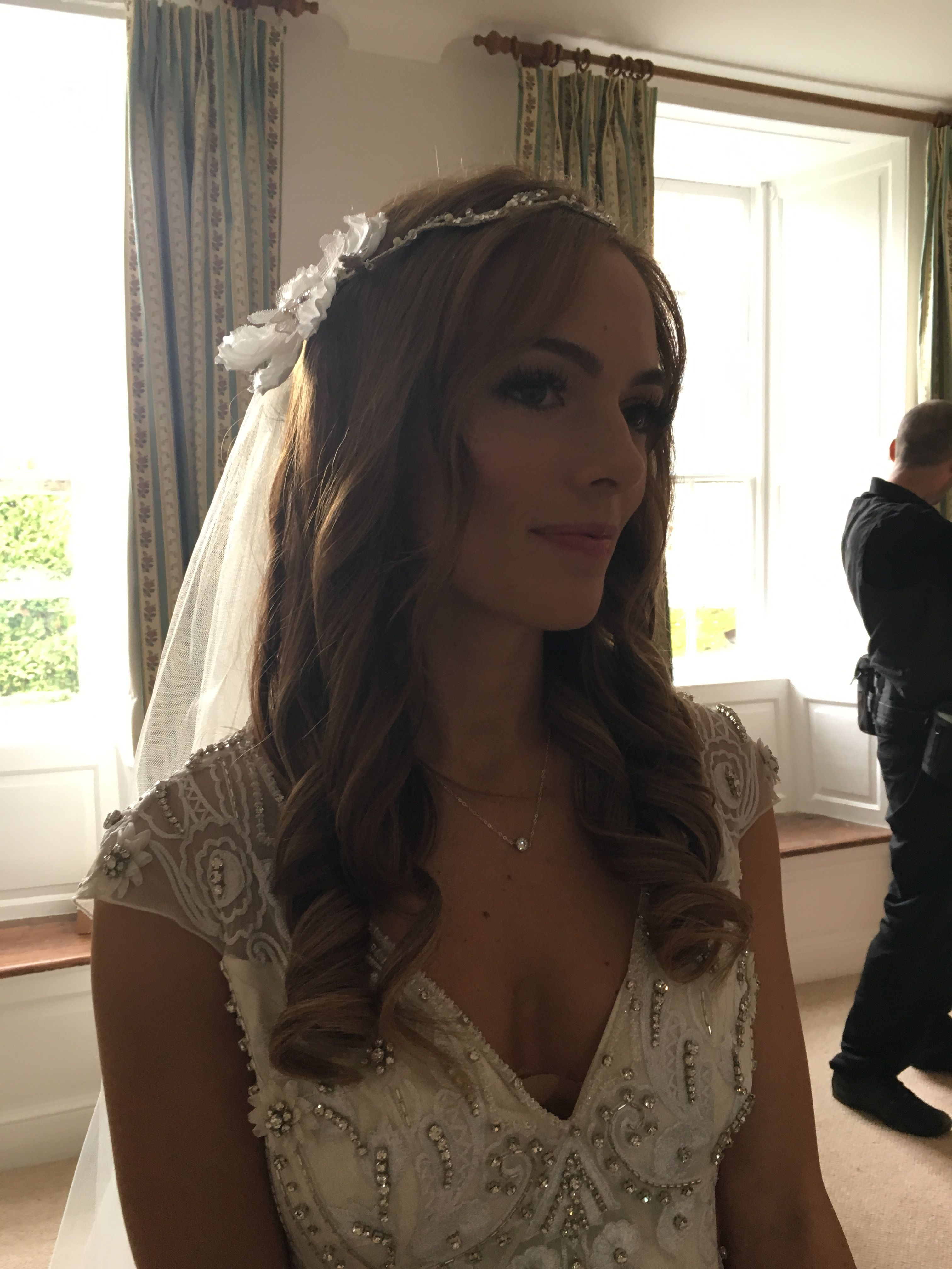 Beautiful bridal hair by Carlene