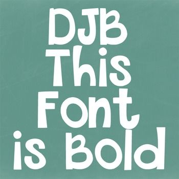 Djb This Font Is Bold Personal Use Southern Phrases Southern
