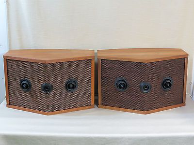 Vintage Pair,Bose 901 Series III Home Speakers,Walnut,Re-foamed,Grilles,Ser. 3
