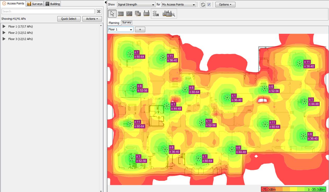 Ekahau Releases Free Wi-Fi Heatmap Software End result