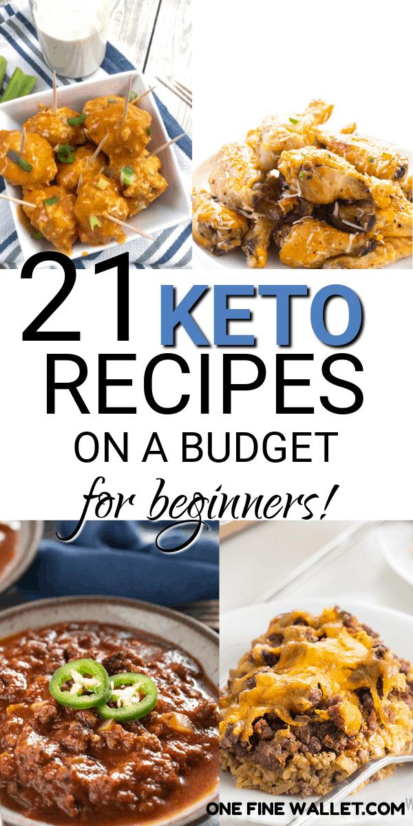 Keto On A Budget 20 Keto Recipes For Dinner Ketogenic Recipes Dinner Keto Diet Recipes Budget Meals