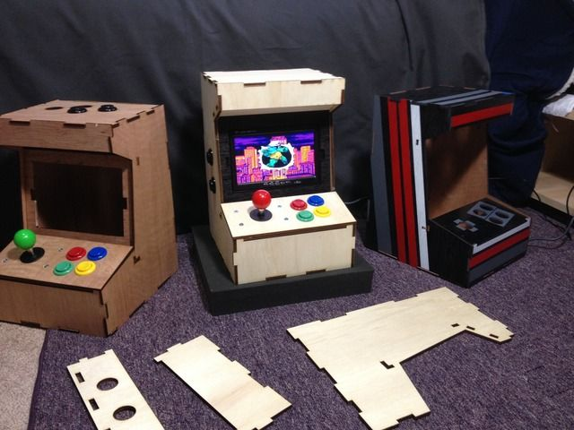 A Diy Mini Arcade Cabinet For Raspberry Pi By Ryan Bates Kickstarter