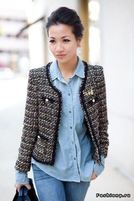 chanel пиджак фото